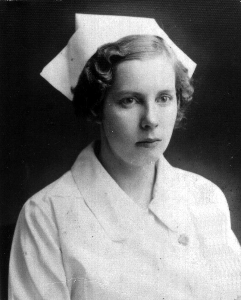This is Helen's graduation photo from Riverside Nursing School in Los Angeles, circa 1925. Helen was born in Weiser, Idaho on December 24, 1905. Her mother Nell Mackey McRoberts was of Irish-Scottish descent.