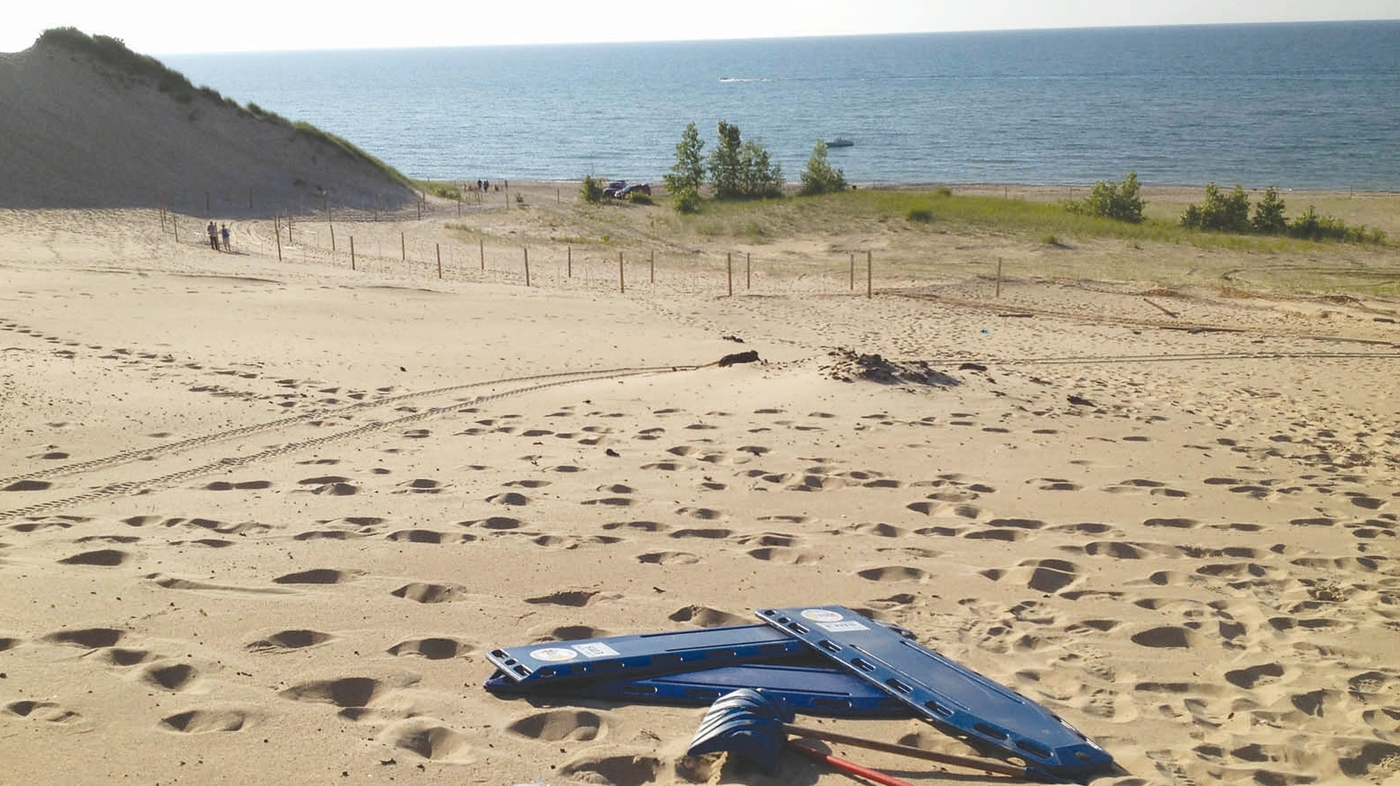 Baffling, Boy-Swallowing Holes Close An Indiana Dune
