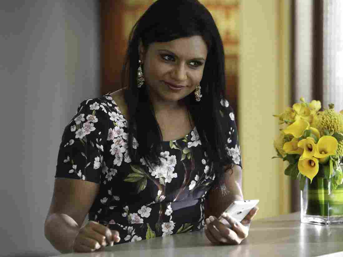 Mindy Kaling as Dr. Mindy Lahiri in The Mindy Project. See how great she is? She needs to stop changing for all her boyfriends.