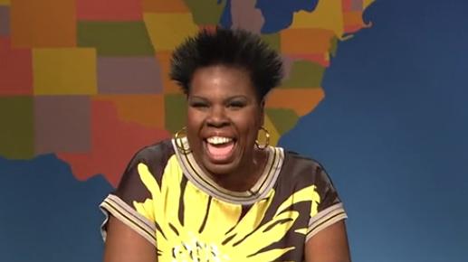 "Leslie Jones played an ""image expert"" on last weekend's SNL."