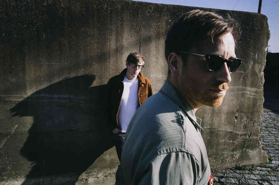 Patrick Carney (left) and Dan Auerbach of The Black Keys.