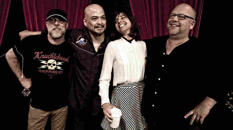 Pixies stopped by KCRW.