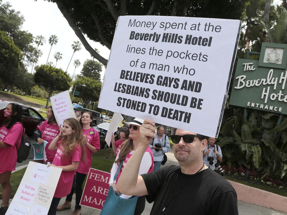 Brunei's Shariah Law Spurs Boycott Of Beverly Hills Hotel