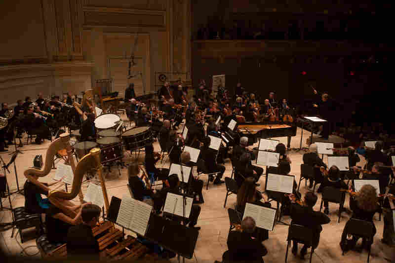 The opening piece on the program was Become Ocean by John Luther Adams. The 40-minute work earned Adams the Pulitzer Prize for music in April.