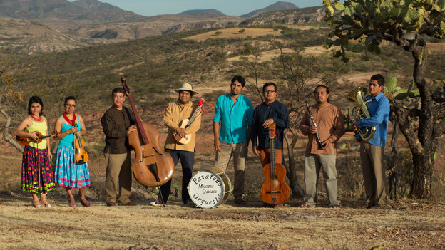 Pasatono Orquesta's new album, Maroma, comes out on May 20.