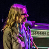 Aimee Mann and Ted Leo at the Pabst Theater in Milwaukee, the site of the very first show they played together.