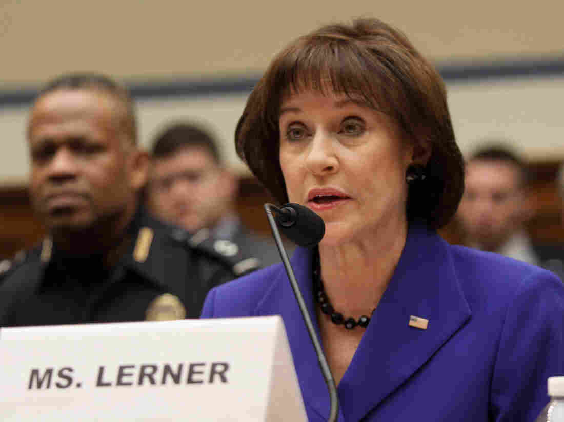 Former IRS official Lois Lerner, during March 5 testimony before the House Oversight and Government Reform Committee. Lerner has repeatedly invoked the Fifth Amendment during congressional appearances on the scandal.