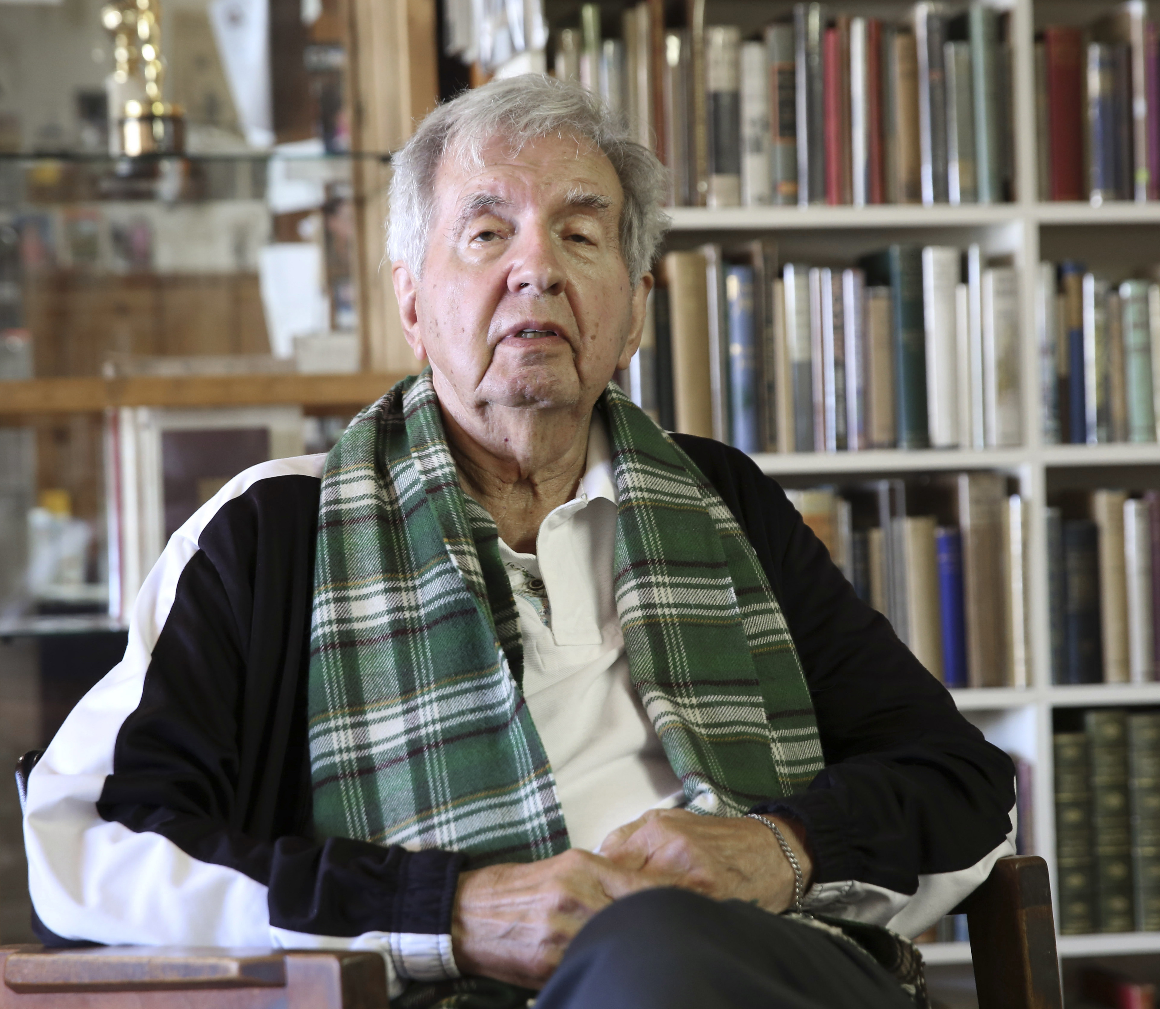 Writer Larry McMurtry is also the founder and owner of the Booked Up bookstore in Archer City, Texas.
