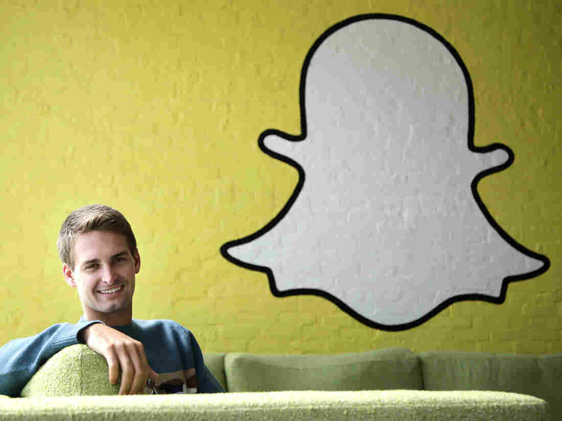 Snapchat CEO Evan Spiegel poses for photos, in Los Angeles, last year. The company has come under fire for violating promises to delete customer data.