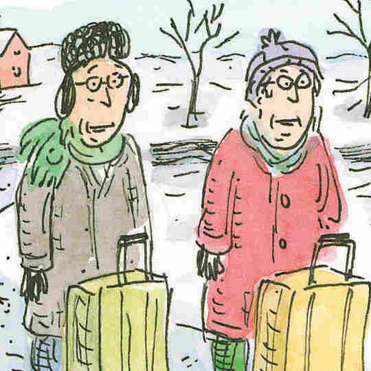 A Cartoonist's Funny, Heartbreaking Take On Caring For Aging Parents