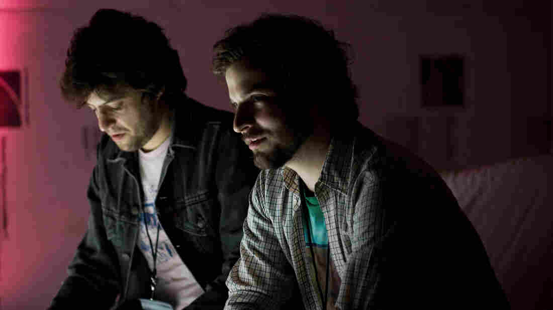 The Washington, D.C., duo Protect-U will release its new album, Free USA, on May 13.