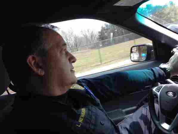 Officer Lance Newkirchen has specialized training to deal with calls involving somebody with a mental illness.