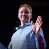 Filmmaker Morgan Spurlock at TED.