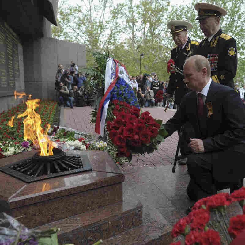 Russia's President Visits Annexed Crimea