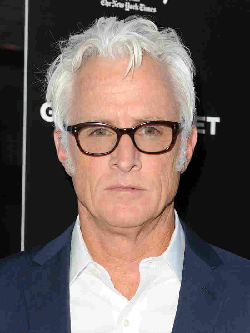 John Slattery, seen here at a Los Angeles premier, makes his directorial debut with God's Pocket.