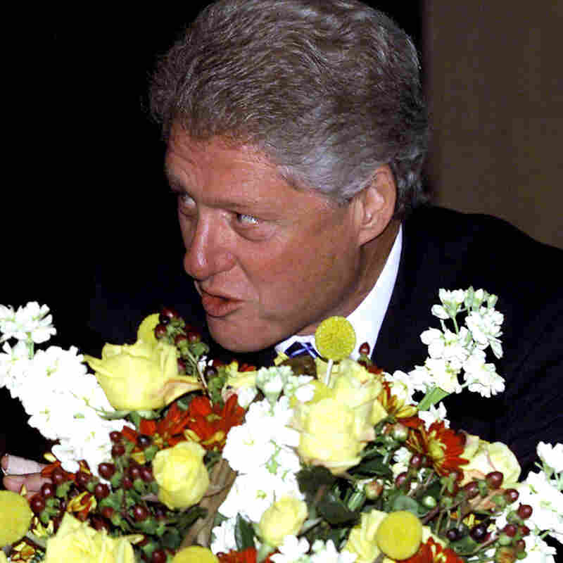 Blythe spirit: Bill Clinton in 2000.
