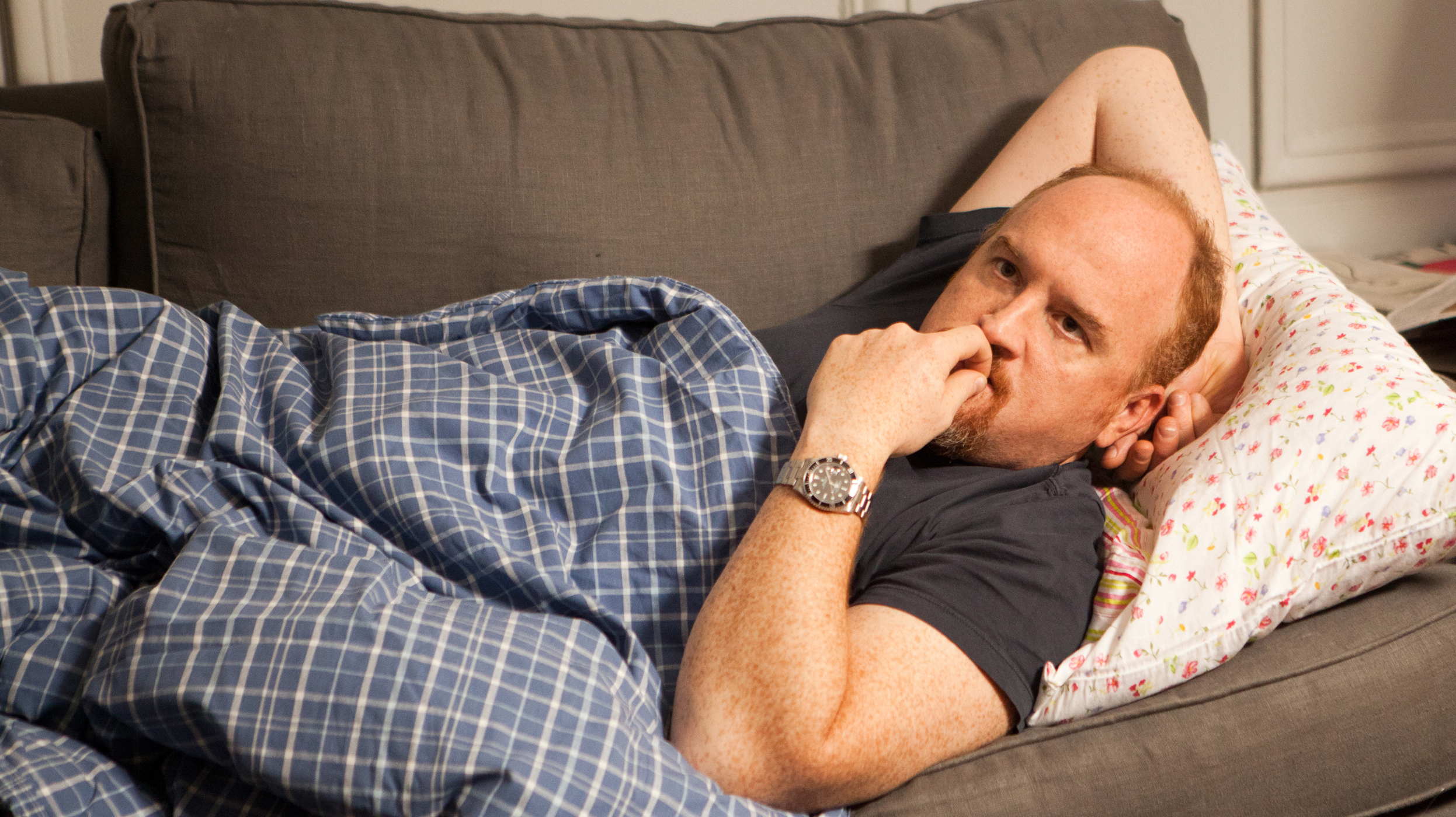 The Pains Of Parenting, And Other Life Lessons From Louis C.K.