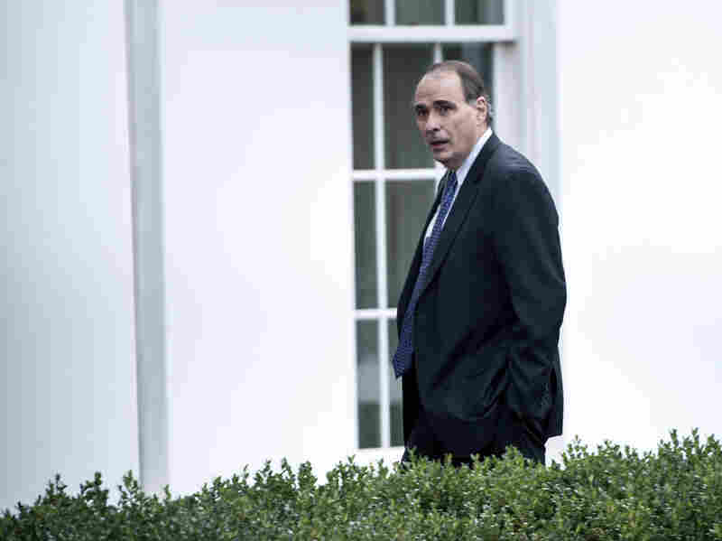Former White House adviser David Axelrod, shown outside the West Wing of the White House in November, has been hired as a consultant to Britain's opposition Labour Party.