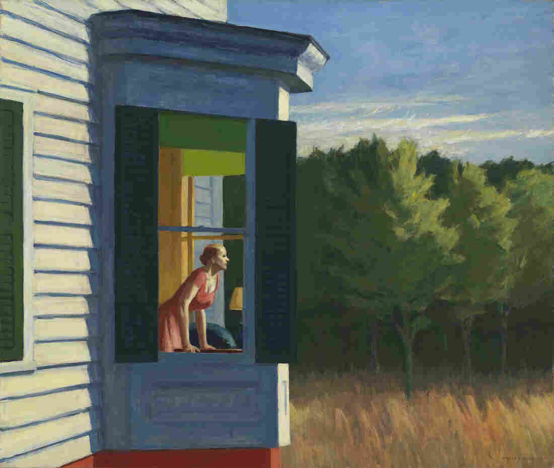 "Edward Hopper's 1950 Cape Cod Morning is one 70 works on display at the American Art Museum as part of the exhibit ""Modern American Realism: The Sara Roby Foundation Collection."""