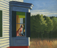 """Edward Hopper's 1950 Cape Cod Morning is one 70 works on display at the American Art Museum as part of the exhibit """"Modern American Realism: The Sara Roby Foundation Collection."""""""