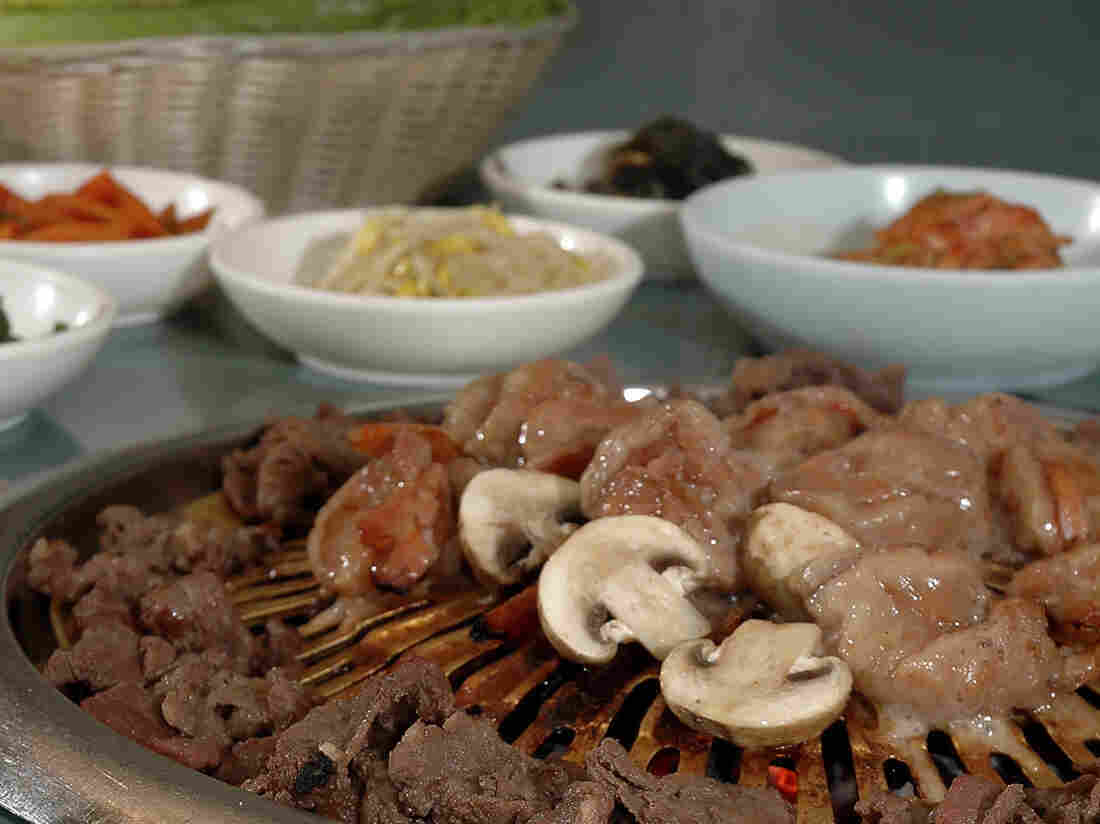 As far as stock images go, this one of Korean barbecue seems pretty tasty.
