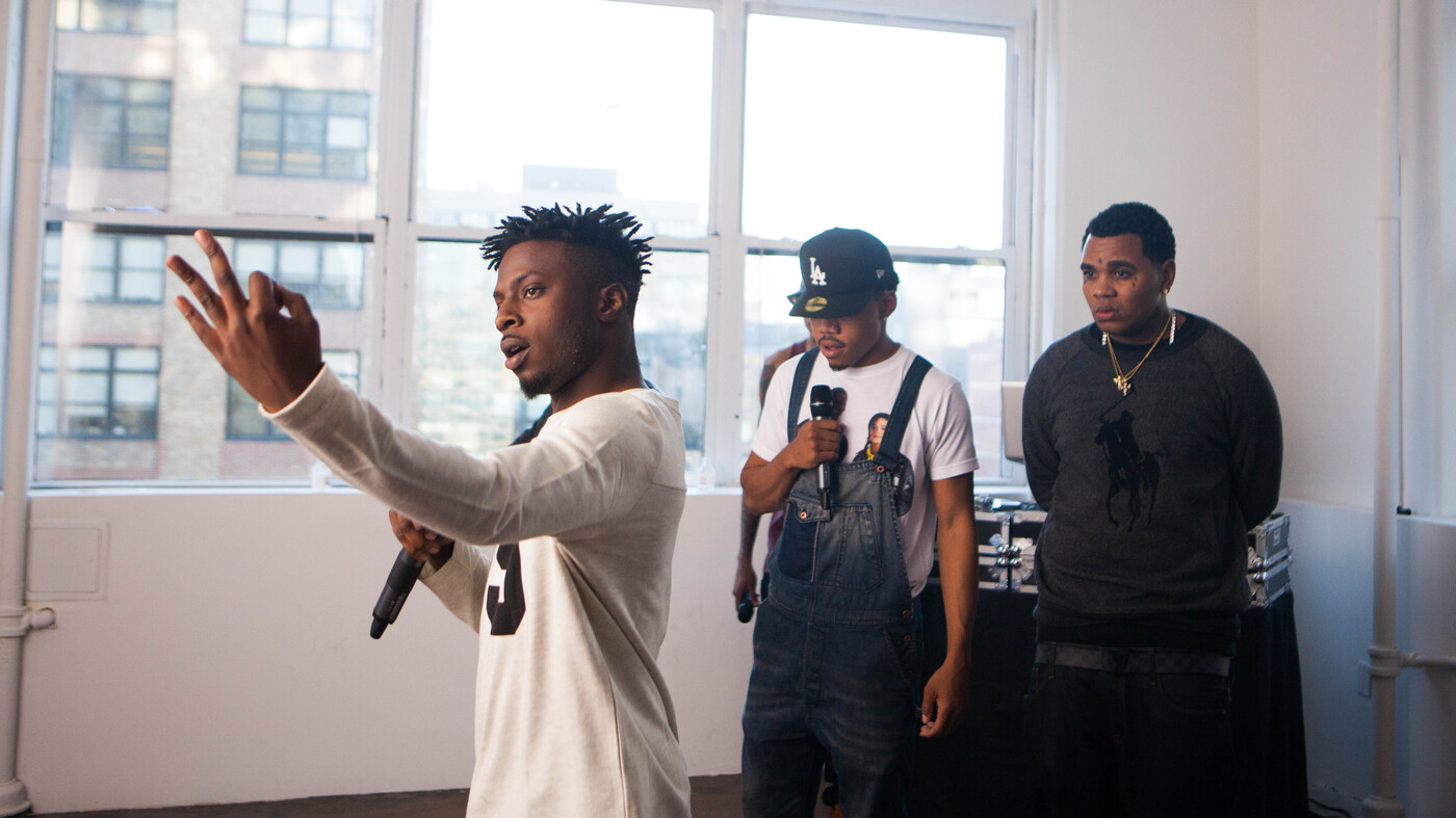 Inside The XXL Freshmen Issue : Microphone Check : NPR