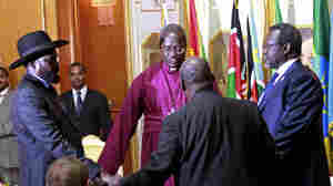 South Sudanese Leaders Sign Cease-Fire Agreement