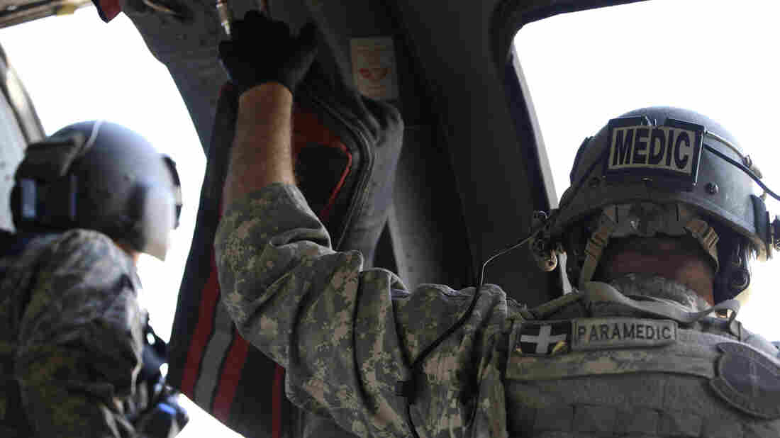 Veterans leave the service with high-level skills, like combat medicine, but it's often not easy to turn those skills into credentials for a civilian job.
