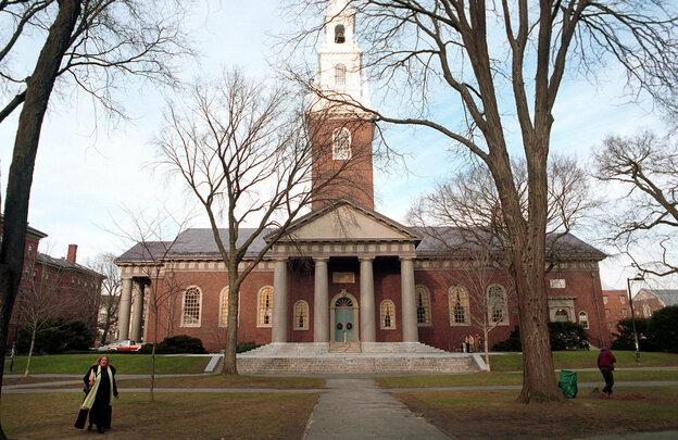 Harvard University's main campus in Cambridge, Mass.