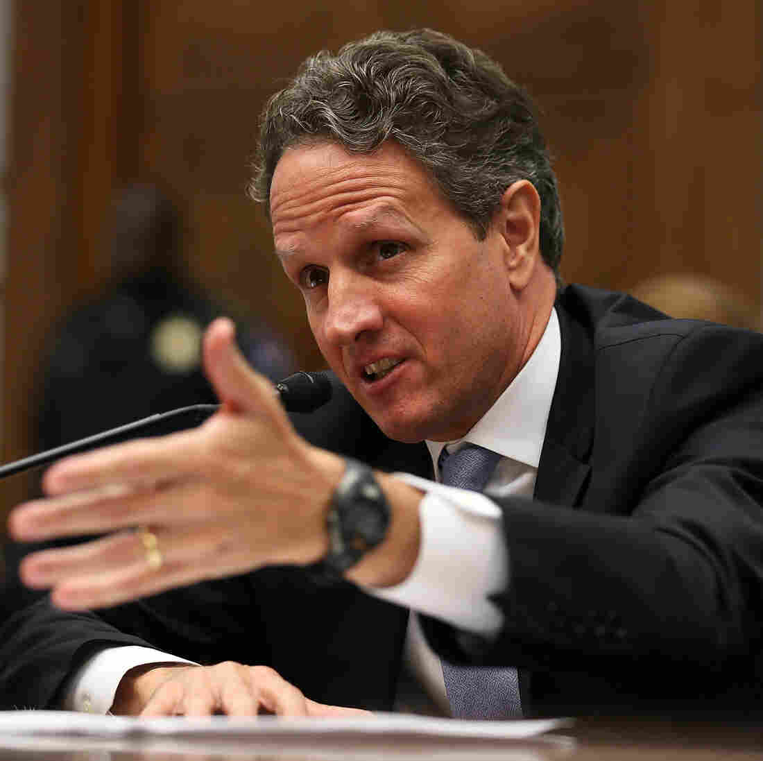 For Geithner, Financial Crisis Was Like Landing A Burning Plane