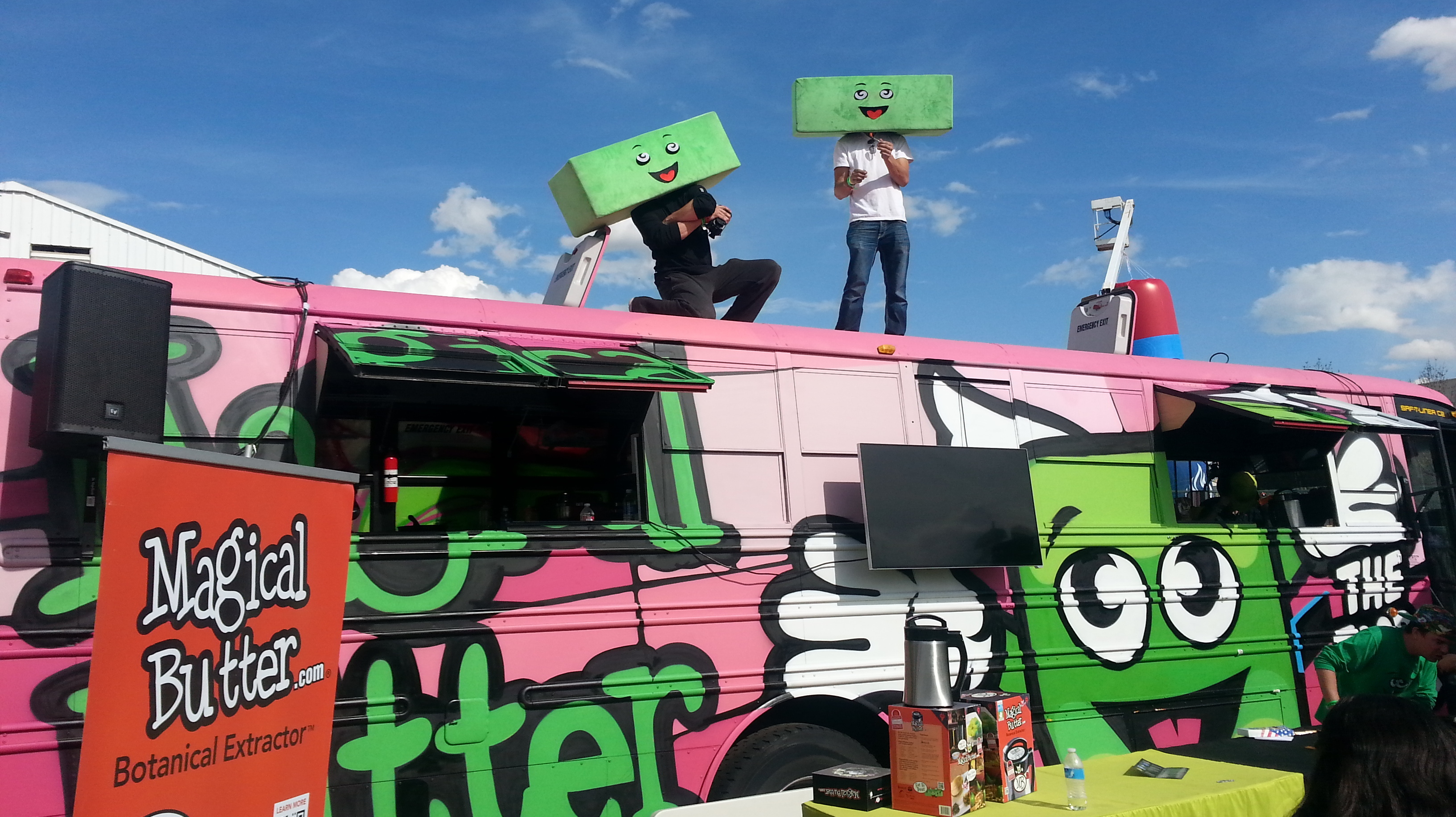 The Latest Food Truck Theme Is Marijuana For Lunch