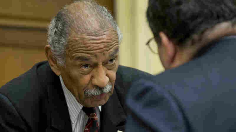 Michigan Rep. John Conyers, at a congressional hearing last week. The Democrat and longtime congressman faces the prospect of not being on Michigan's August primary ballot af
