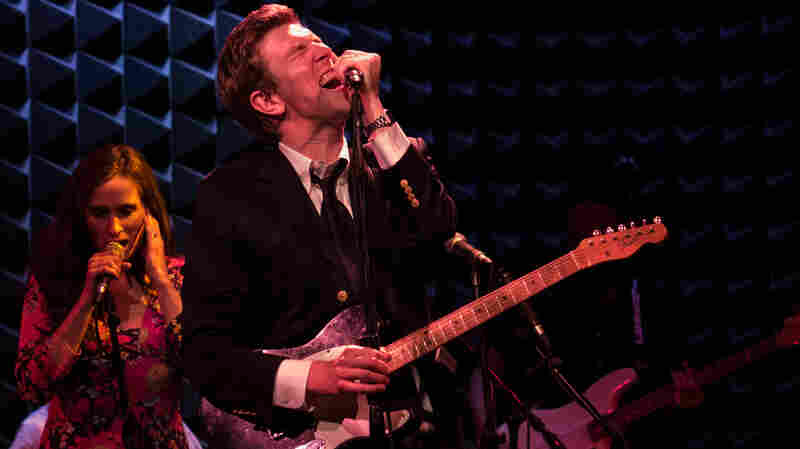 Hamilton Leithauser performs live at Joe's Pub in New York City.
