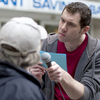 Billy Eichner's series Billy on the Street is an example of a project that was developed at Funny or Die and now lives on cable television.