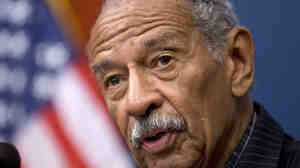 Michigan Rep. John Conyers on Capitol Hill last year. A local election official in Detroit says Conyers doesn't have enough signatures to appear on the August primary ballot.