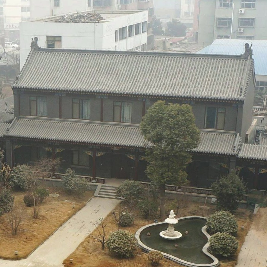 The luxury estate of former general Gu Junshan in central China's Henan province on Jan. 17. Gu is a former lieutenant general and is the highest-ranking officer to face a military trial since 2006. He has been charged with corruption and allegedly owns dozens of homes and gold statues.