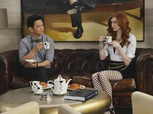 John Cho and Karen Gillan star in Selfie, an ABC comedy that will roll out this fall.