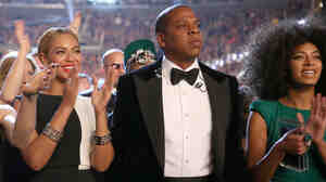 Beyonce, Jay Z and Solange at the 2013 Grammy Awards. Most families have disagreements, and the Knowles-Carter family is no exception.