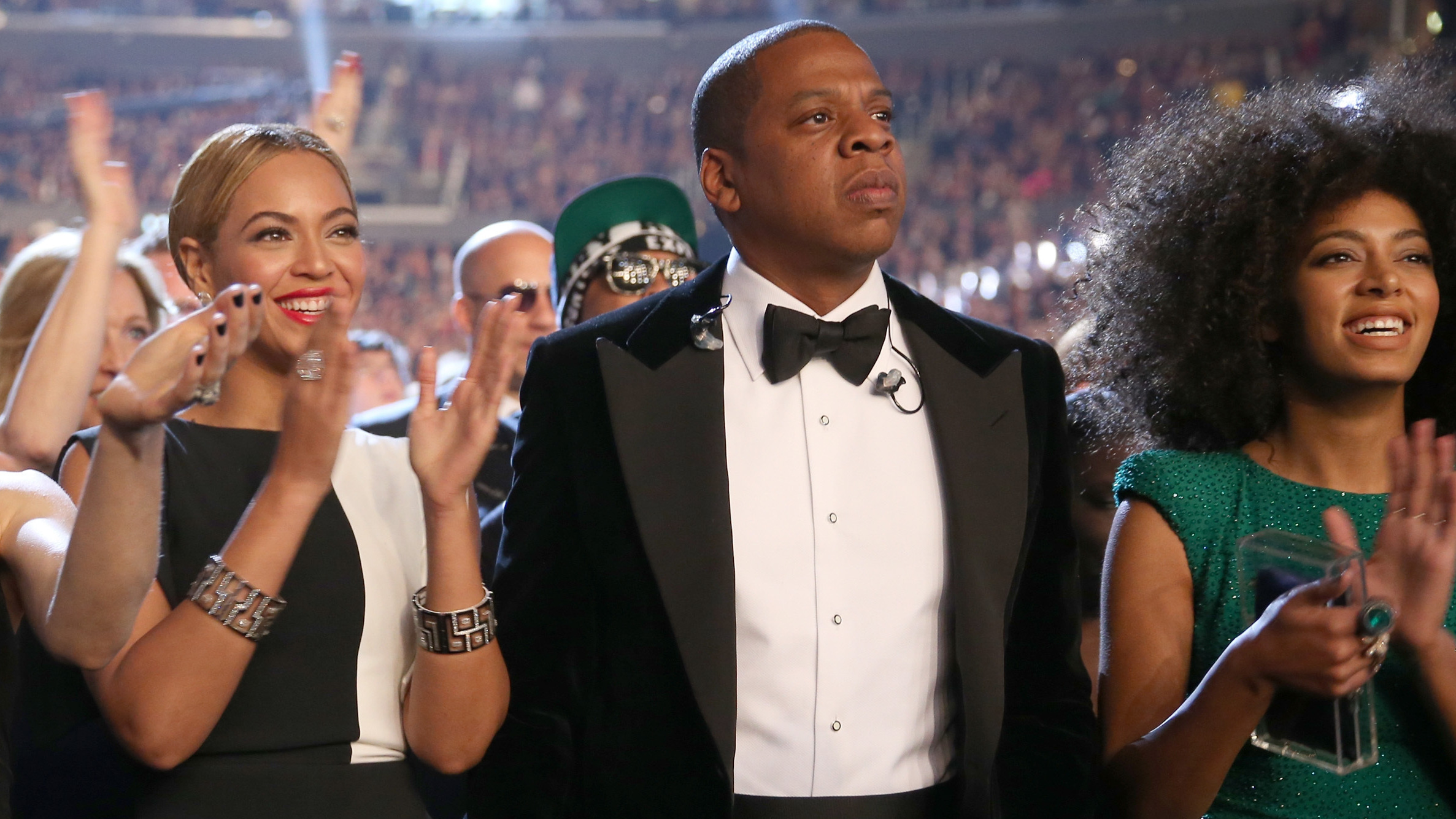 Beyonce, Jay Z And Solange Walk Into An Elevator ...