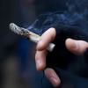 The overwhelming majority of people think there should be age restrictions on the recreational use of marijuana.