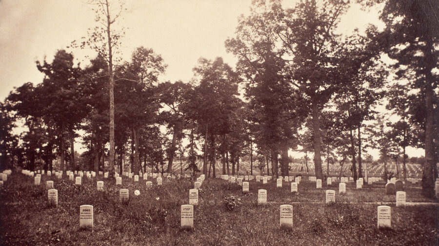 150 Years Old, Arlington Cemetery Is Running Out Of Room : NPR