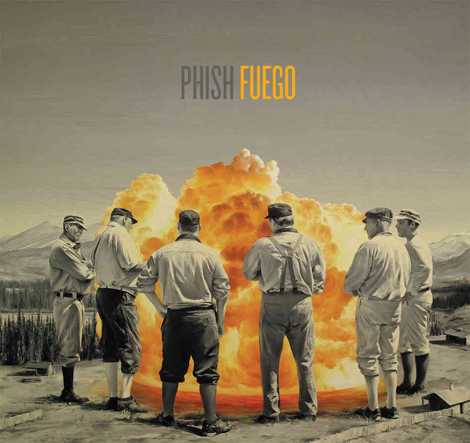 The cover of Fuego, the 12th album by Phish, out June 24.