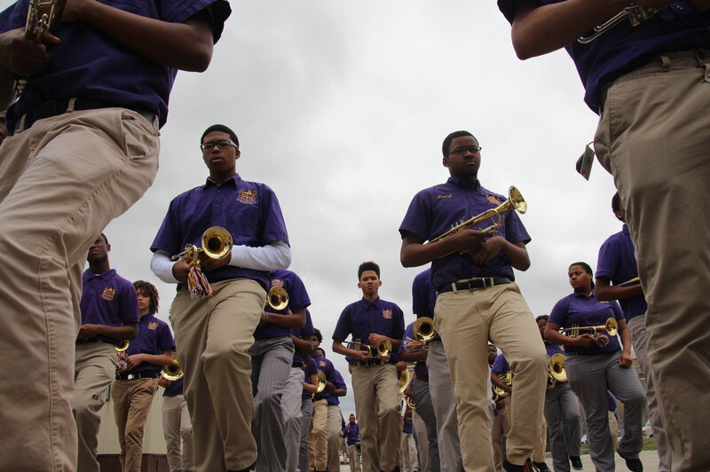 At A New Orleans High School, Marching Band Is A Lifeline For Kids