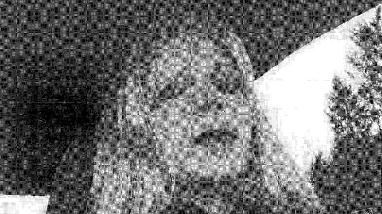 PVt. Chelsea Manning, formerly named Bradley, was convicted last year of sending classified documents to anti-secrecy website WikiLeaks. In this 2010 photo, Manning was dressed as a woman. The soldier has asked for hormone therapy and to be able to live as a woman.