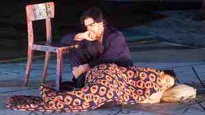 Rolando Villazon and Alexia Voulgaridou star as Rodolfo and Mimi in a June 2001 production of Giacomo Puccini's opera La Boheme. Some real-life artists say the story cuts a little close to home.