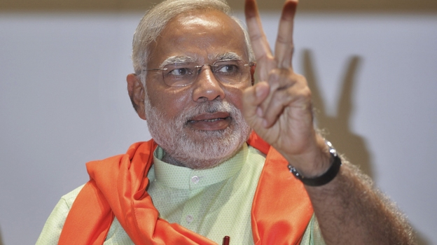 Gujarat Chief Minister Narendra Modi is poised to become India's next prime minister after his party's sweeping parliamentary victory on Friday. (AP)