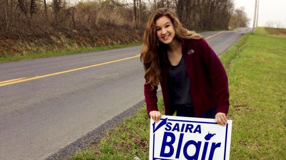 Saira Blair Wins W. Virginia GOP Primary: 17-Year-Old