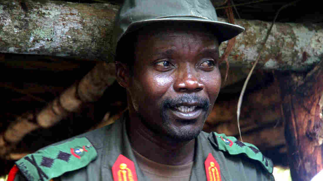 Joseph Kony, the Ugandan leader of the Lord's Resistance Army, is being pursued by U.S. special forces and African armies. His group has abducted an estimated 30,000 or more children since the 1980s, about half of them girls.