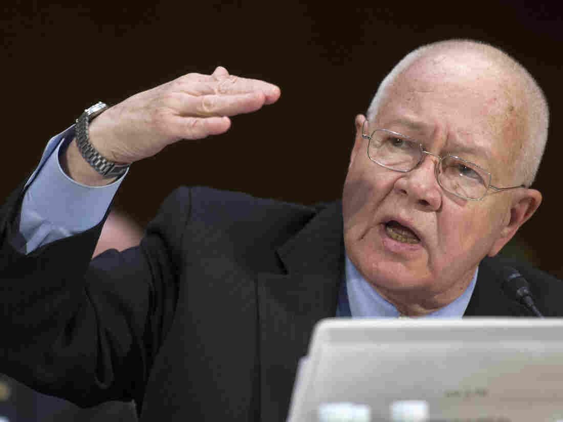 Veterans Affairs Undersecretary Robert Petzel testifies Thursday on Capitol Hill. Petzel tendered his resignation from the VA on Friday.