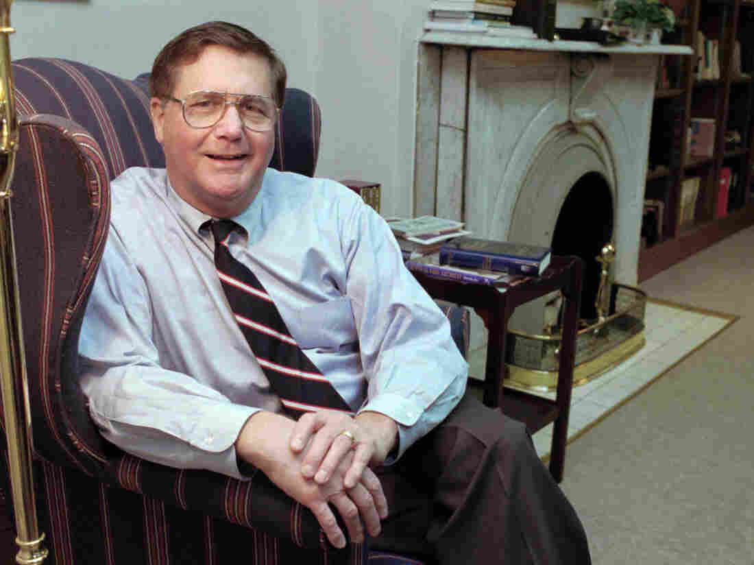 Jeb Stuart Magruder, then a Presbyterian minister, in 1995. Magruder, a top Nixon campaign official who went to prison for his role in Watergate, died on Sunday in Danbury, Conn.